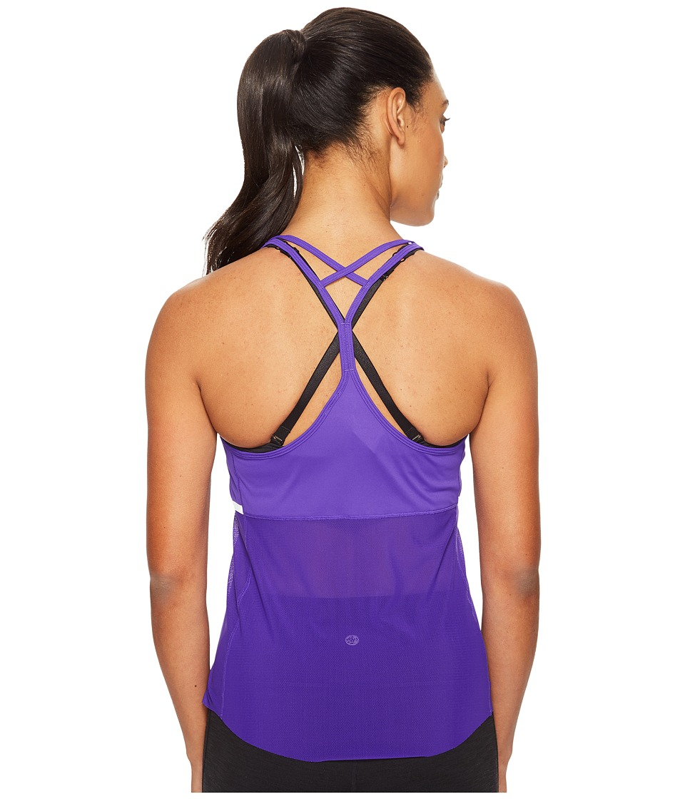 New Balance - Ice Hybrid Tank Top (Deep Violet) Women's Sleeveless