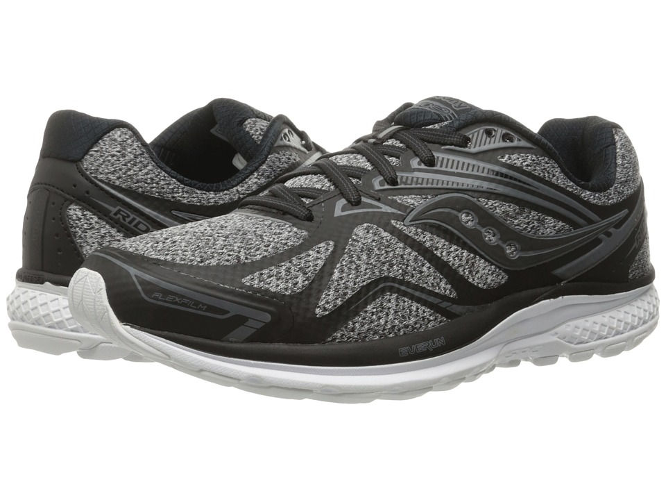 Saucony - Ride 9 (Marl/Black) Men's Running Shoes