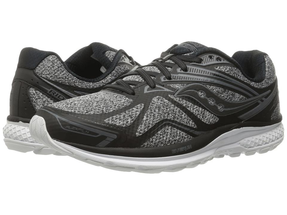 Saucony - Ride 9 (Marl/Black) Men's Running Shoes