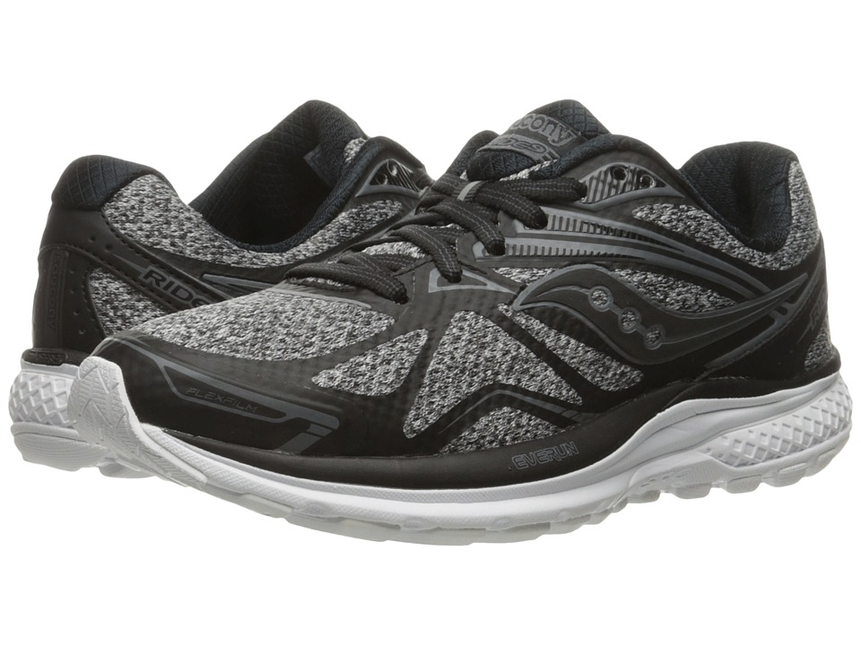 Saucony - Ride 9 (Marl/Black) Women's Running Shoes