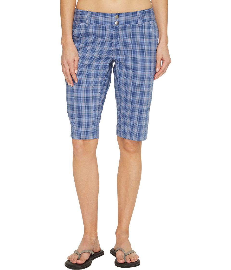 Columbia Saturday Trailtm II Plaid Short (Bluebell Plaid) Women