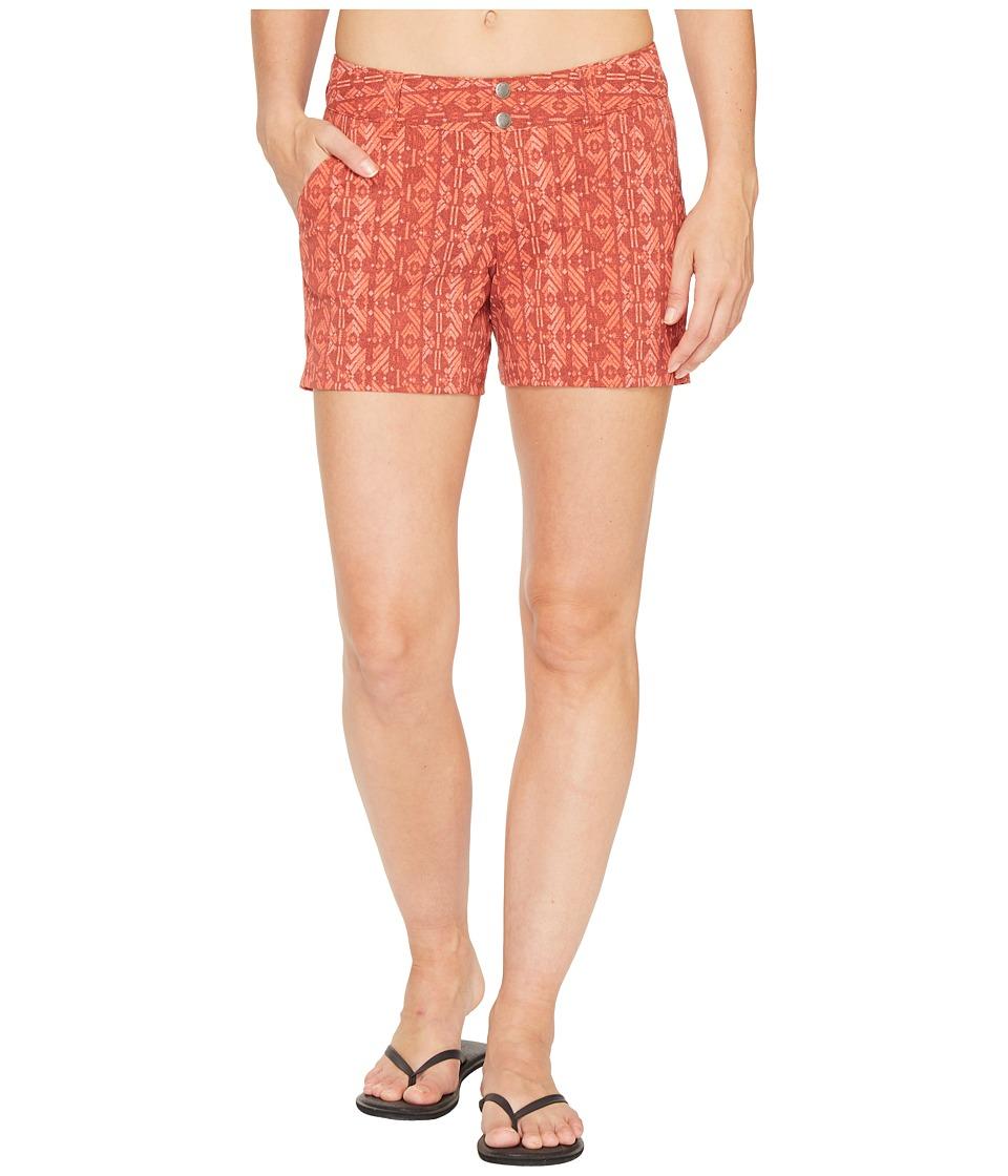 Columbia - Saturday Trailtm Printed Short (Coral Arizona Print) Women's Shorts