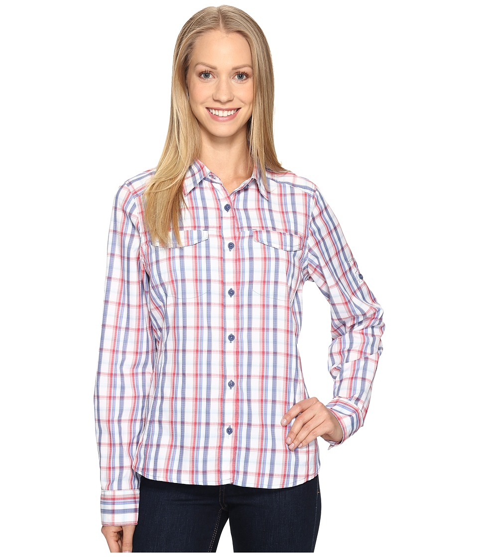 Columbia - Silver Ridge Lite Plaid Long Sleeve Shirt (Bluebell Plaid) Women's Long Sleeve Button Up