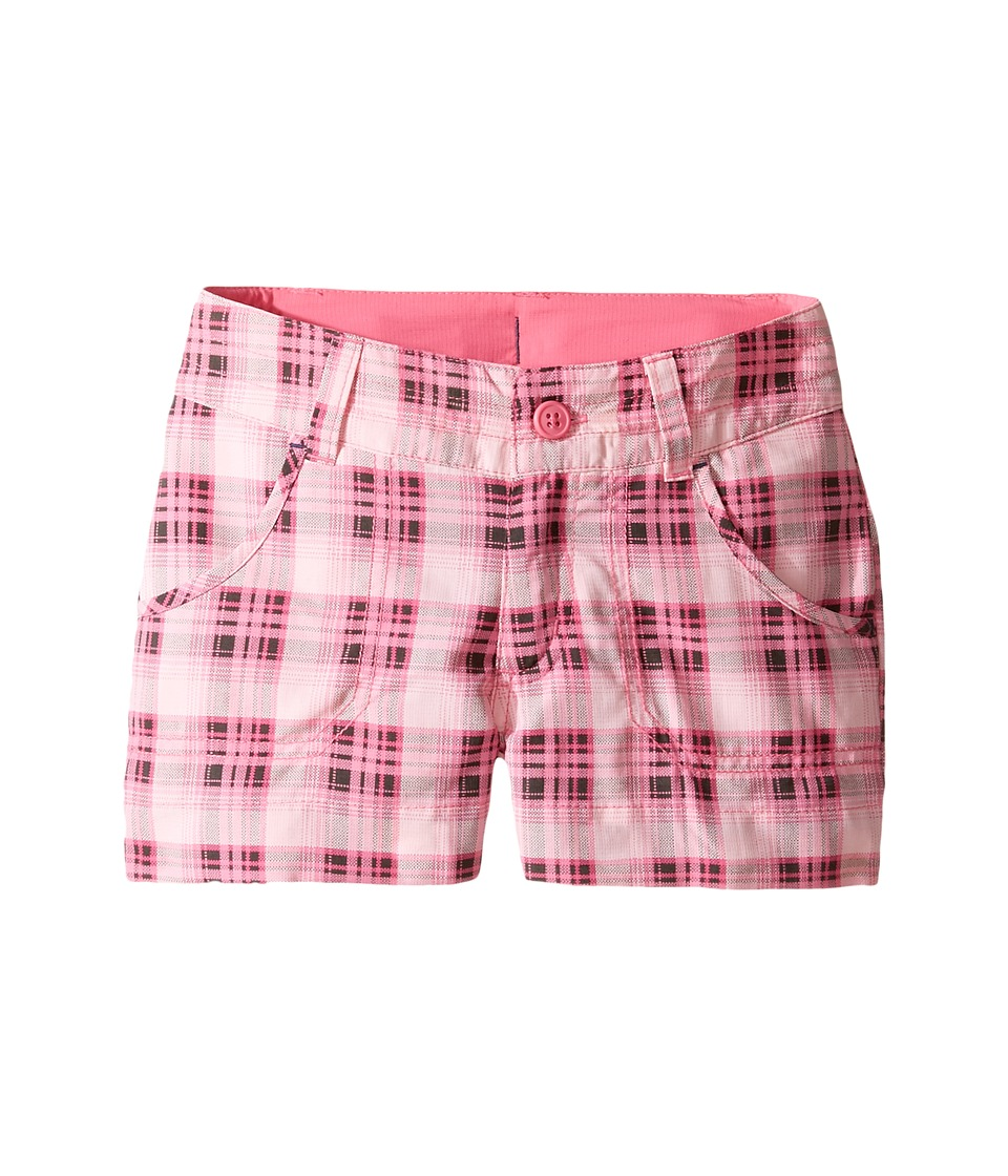 Columbia Kids - Silver Ridge Printed Shorts (Little Kids/Big Kids) (Wild Geranium Printed Plaid) Girl's Shorts