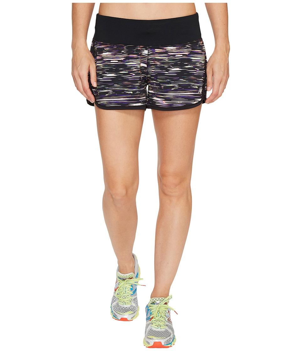 New Balance - Impact 3 Shorts Print (Multi Intensity Stripe) Women's Shorts