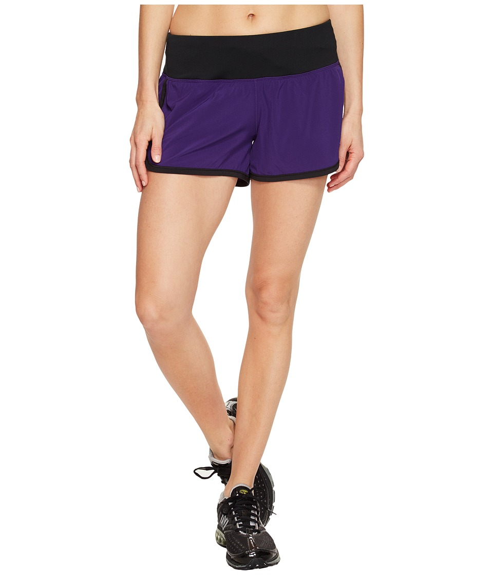 New Balance Impact 3 Shorts (Black Plum/Black) Women