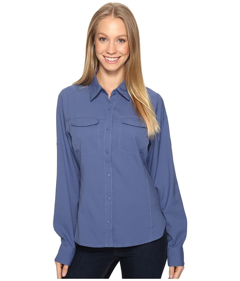 Columbia - Silver Ridge Lite Long Sleeve Shirt (Bluebell) Women's Long Sleeve Button Up
