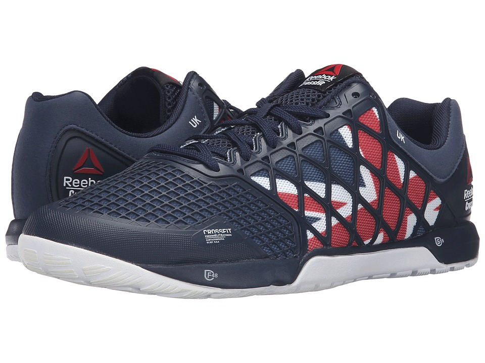 Reebok - Crossfit Nano 4.0 (Collegiate Navy/Excellent Red) Men's Shoes