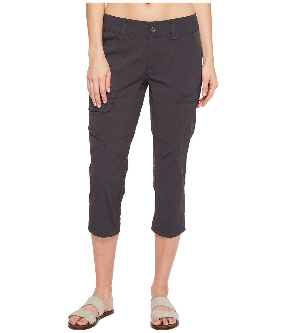 Columbia - Silver Ridge Stretch Capri Pants (Shark) Women's Capri