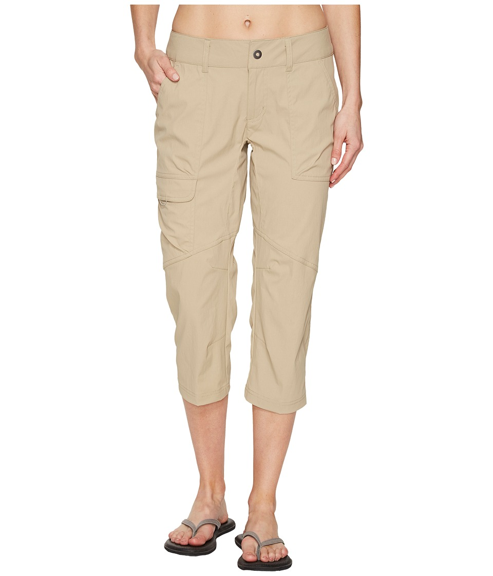 Columbia - Silver Ridge Stretch Capri Pants (British Tan) Women's Capri