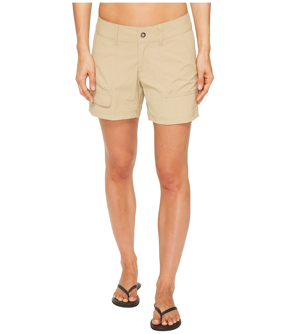 Columbia - Silver Ridge Stretch Shorts (British Tan) Women's Shorts