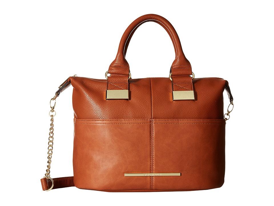 Steve Madden - BMonay Satchel (Cognac) Satchel Handbags