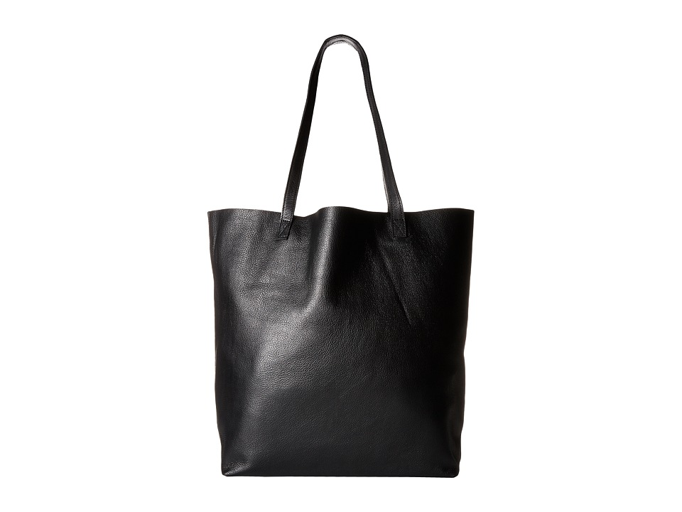Steve Madden - BGrgeous Leather Tote (Black) Tote Handbags