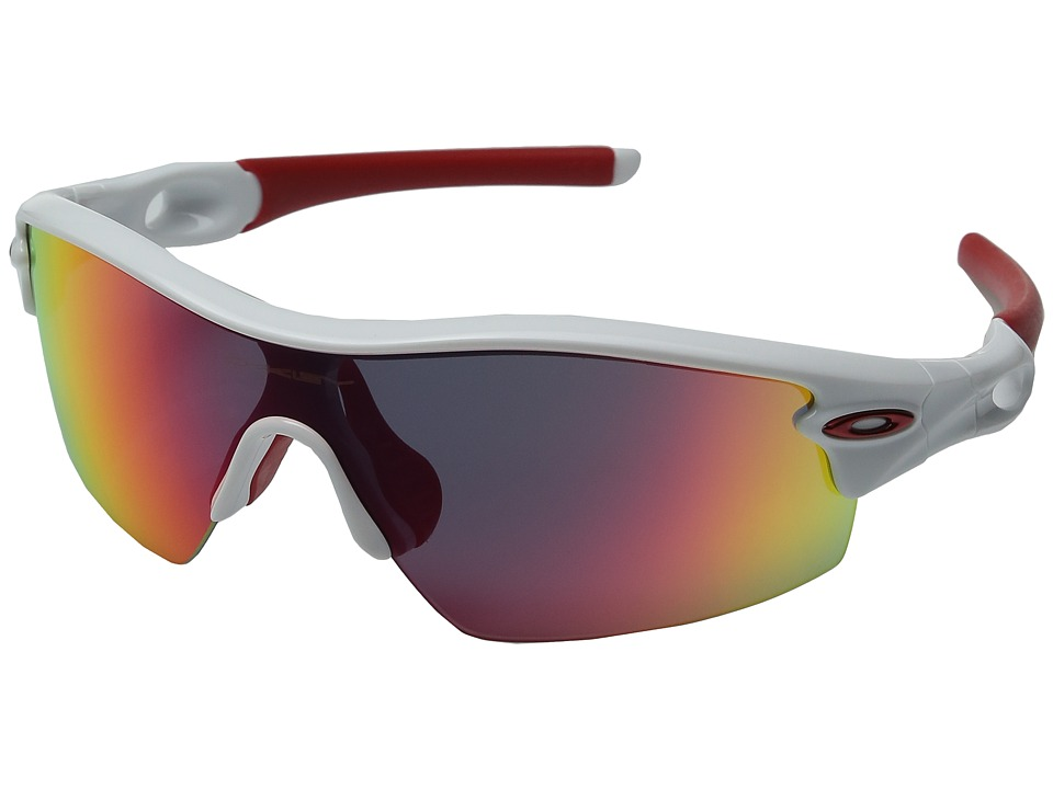 Oakley - Radar Pitch (Polished White w/ Red Iridium) Sport Sunglasses