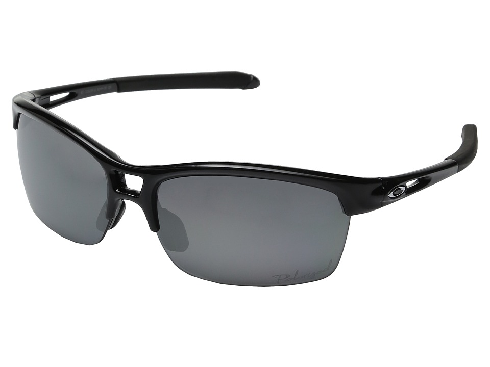 Oakley - RPM Squared (Black Polished w/ Black Iridium Polarized) Sport Sunglasses