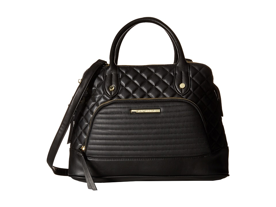 Steve Madden - Blorraine Satchel (Black 1) Satchel Handbags