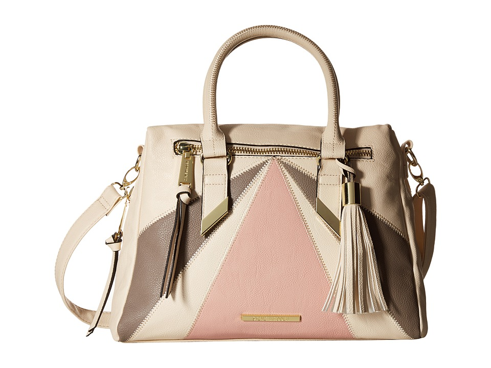 Steve Madden - BNikki Satchel (Bone/Smoke/Blush) Satchel Handbags