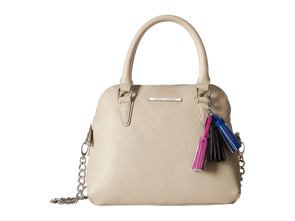 Steve Madden - BHelena Dome Satchel (Fog/Cobalt/Fuchsia/Black Tassels) Satchel Handbags