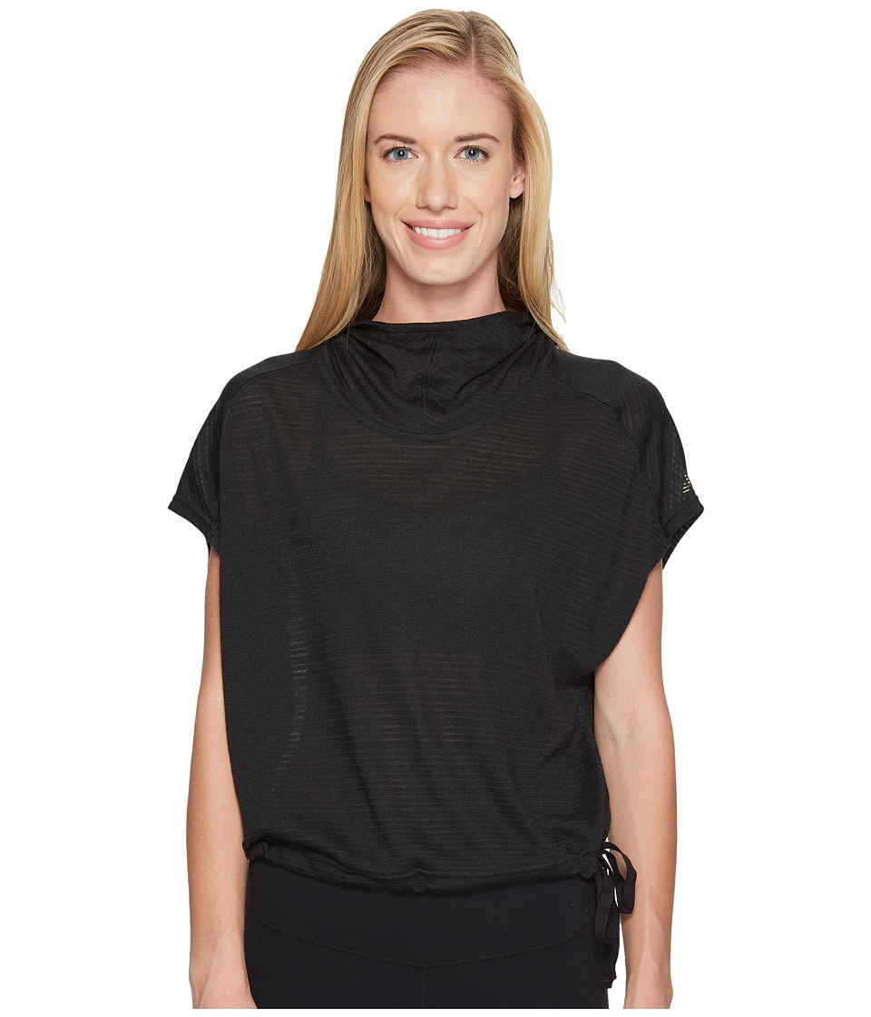 New Balance - Poncho (Black) Women's Sweatshirt