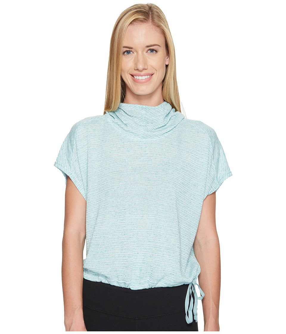 New Balance - Poncho (Storm Blue Heather) Women's Sweatshirt