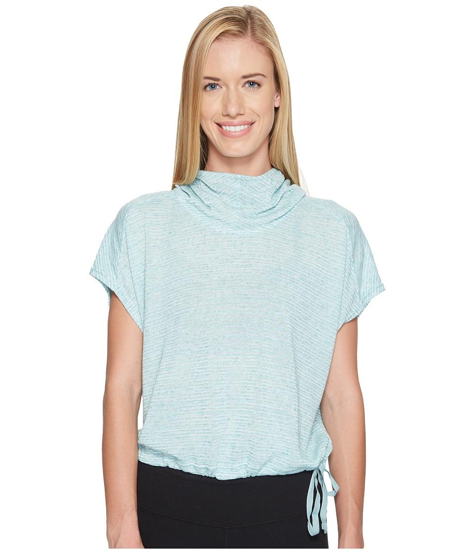 New Balance - Poncho (Storm Blue Heather) Women's Sweatshirt