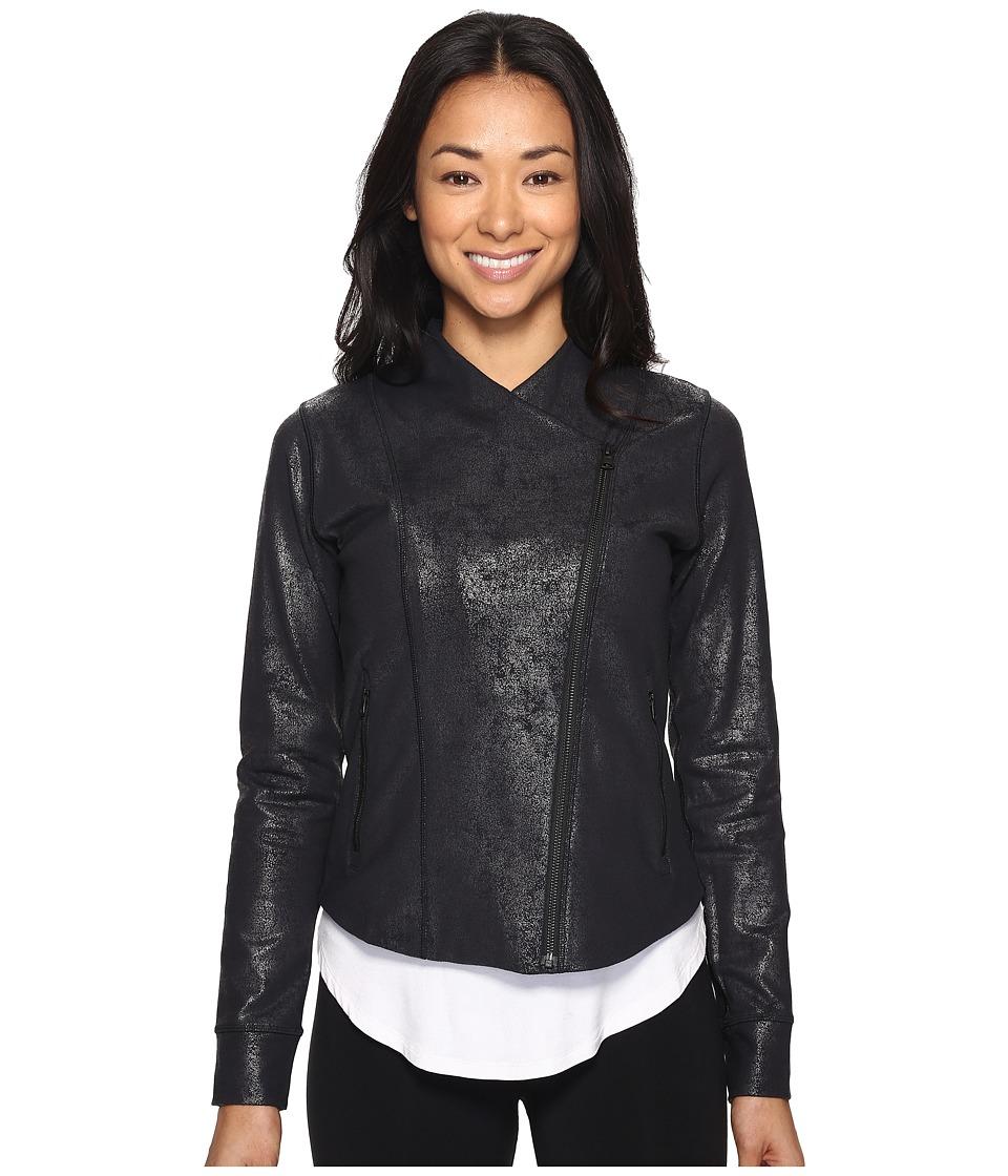 New Balance - Bomber Jacket Printed (Cire Print) Women's Coat