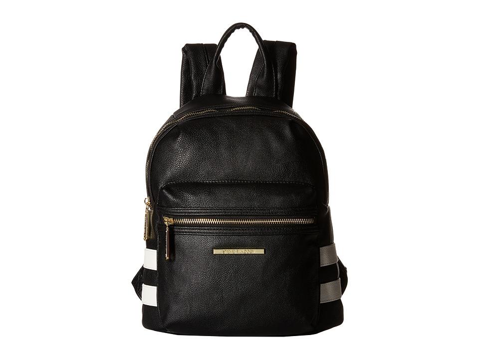 Steve Madden - BKris Mini Backpack (Black/White) Backpack Bags