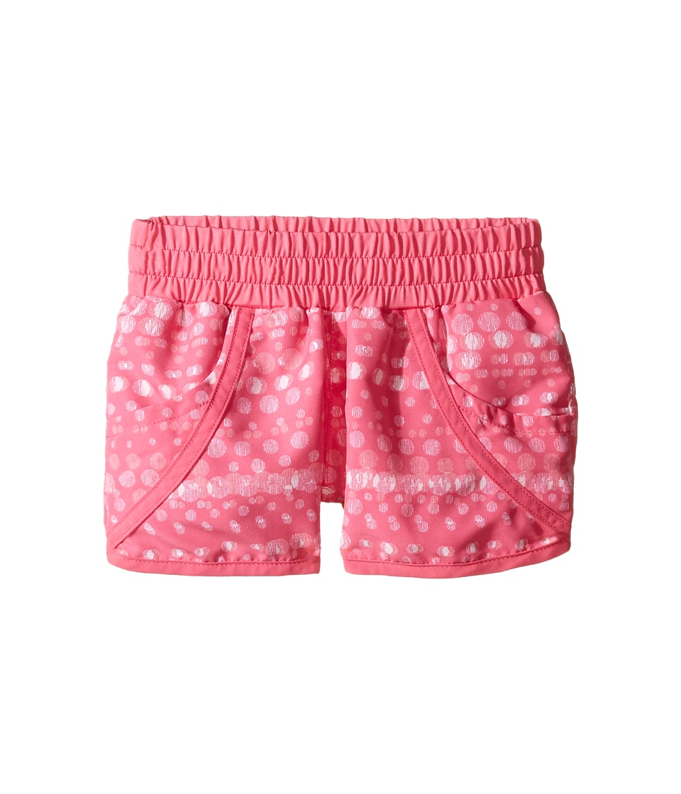 Columbia Kids - Solar Streamtm II Boardshort (Little Kids/Big Kids) (Wild Geranium Bubble Dot) Girl's Swimwear