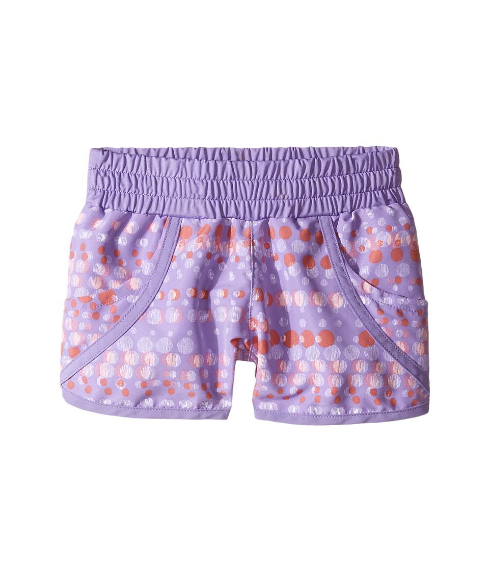 Columbia Kids - Solar Streamtm II Boardshort (Little Kids/Big Kids) (Paisley Purple Bubble Dot) Girl's Swimwear