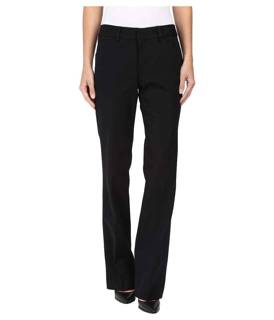 Christin Michaels - Jules Straight Leg Trouser Pants (Black) Women's Casual Pants