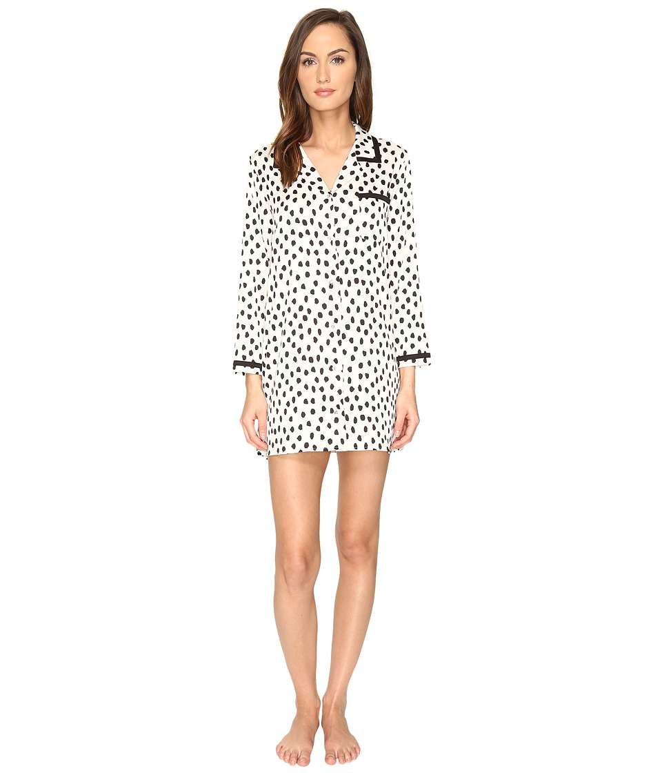 Kate Spade New York - Sleepshirt (Flamingo Dot) Women's Pajama