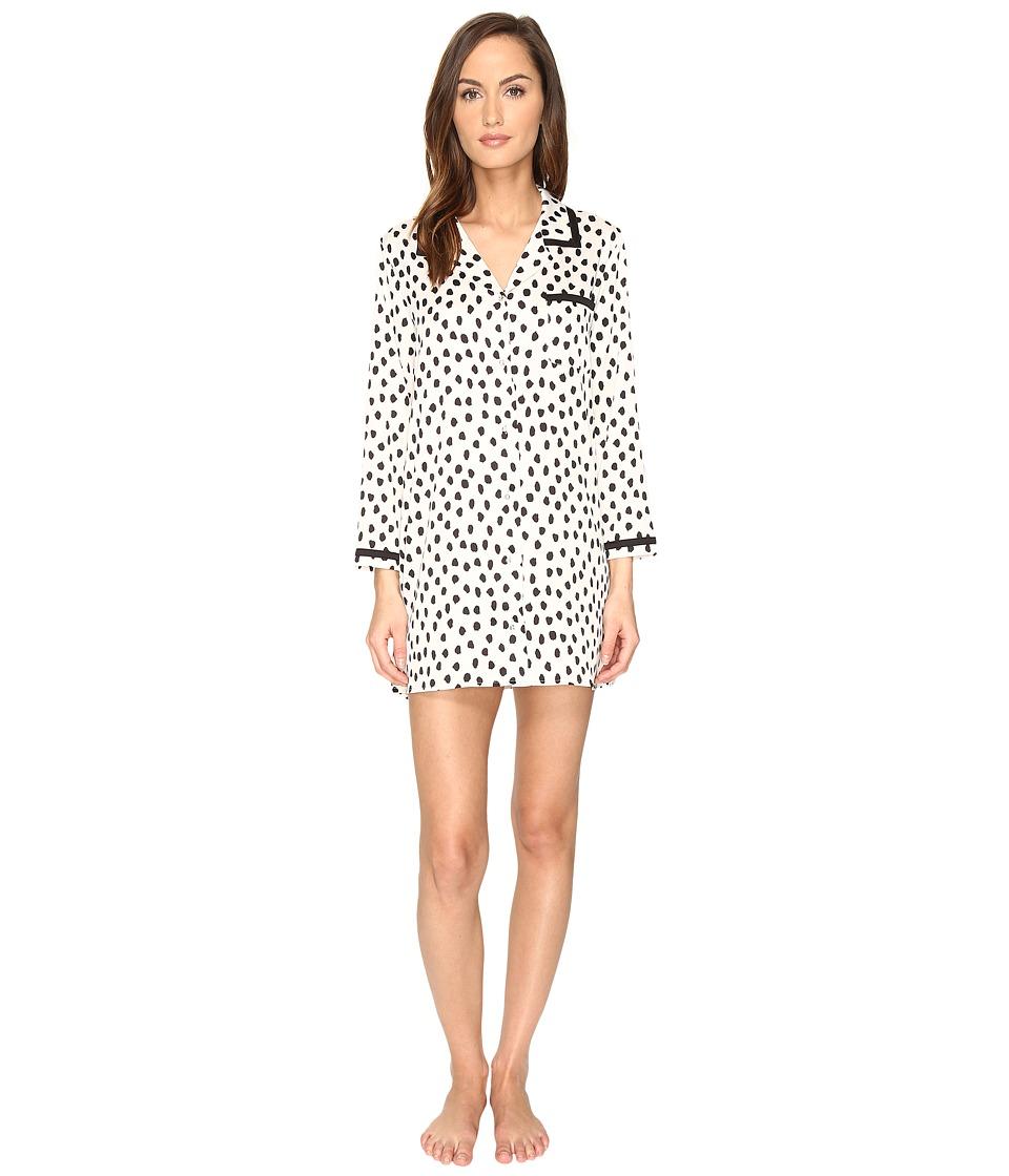 Kate Spade New York - Sleepshirt (Flamingo Dot) Women's Pajama