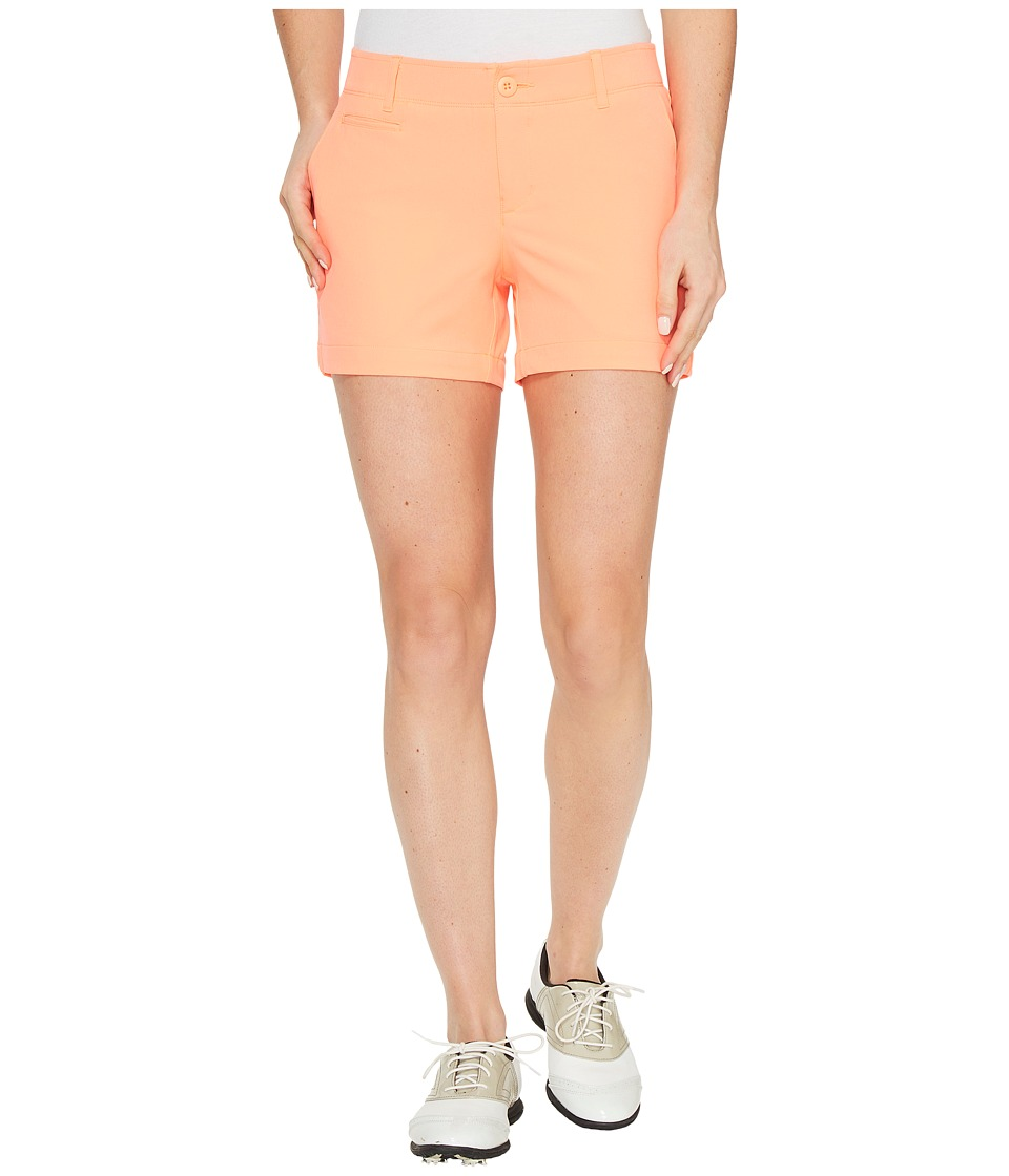Under Armour Golf - Links Shorty 4 (London Orange/Mediterranean/London Orange) Women's Shorts