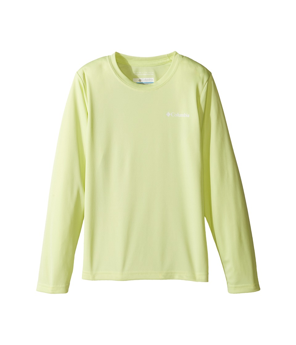 Columbia Kids - Terminal Tackletm Long Sleeve (Little Kids/Big Kids) (Spring Yellow) Girl's Long Sleeve Pullover