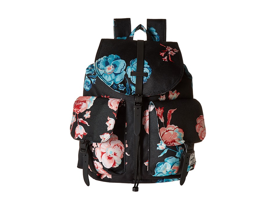 Herschel Supply Co. - Dawson (Pastel Petals/Black Rubber) Bags