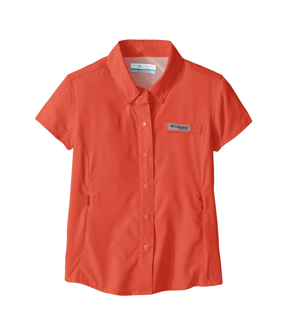 Columbia Kids - Tamiami Short Sleeve Shirt (Little Kids/Big Kids) (Melonade) Girl's Short Sleeve Button Up