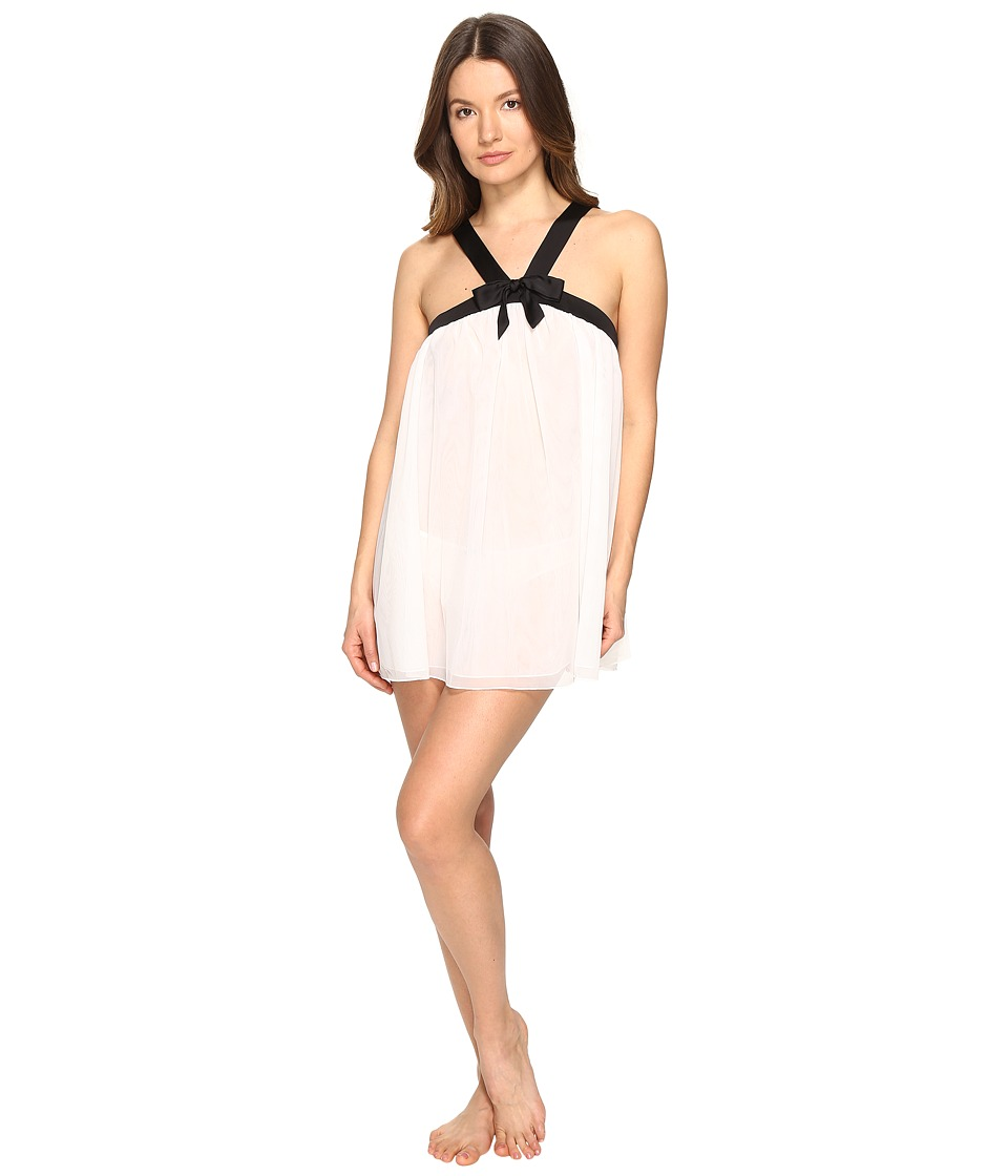 Kate Spade New York - Babydoll Panty Set (Off-White) Women's Pajama Sets