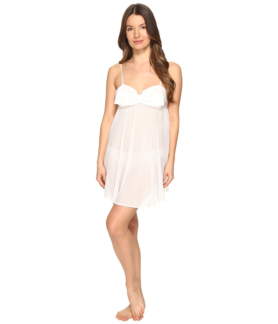 Kate Spade New York - Babydoll Panty Set (Off-White) Women's Pajama Sets
