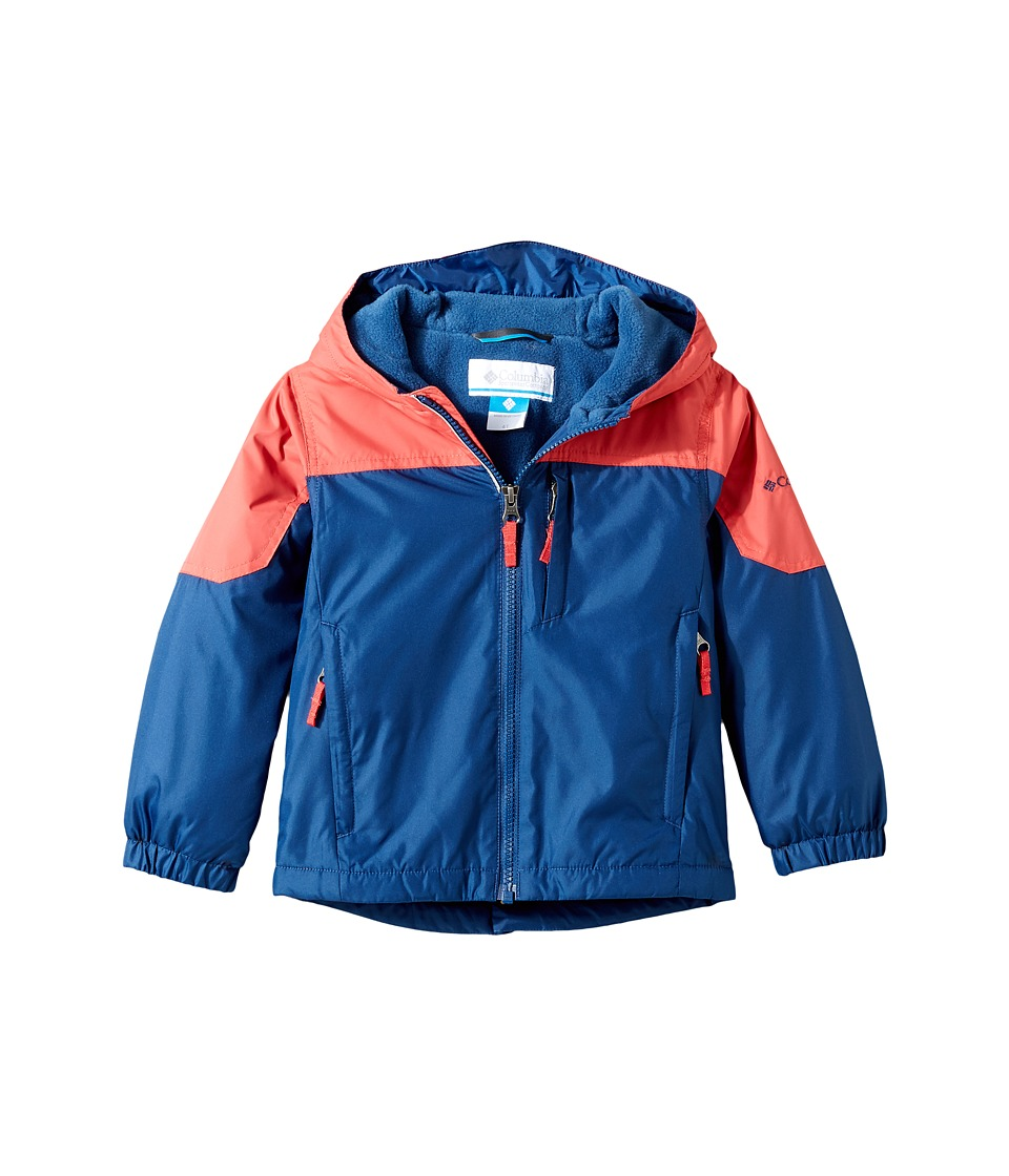 Columbia Kids - Ethan Pondtm Jacket (Toddler) (Sunset Red/Carbon) Boy's Coat