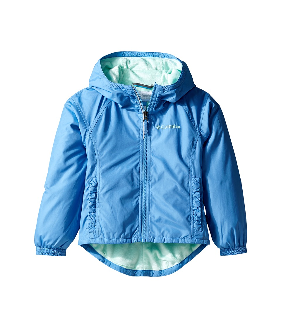 Columbia Kids - Ethan Pondtm Jacket (Toddler) (Medieval/Sea Ice) Girl's Coat