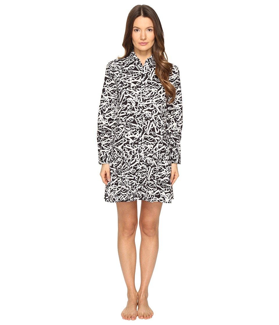Kate Spade New York - Sleepshirt (Glasses Black) Women's Pajama