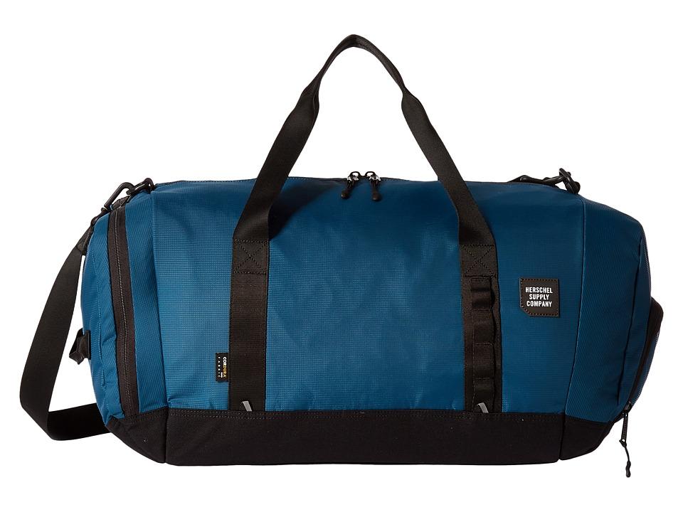 Herschel Supply Co. - Gorge (Legion Blue/Black) Duffel Bags