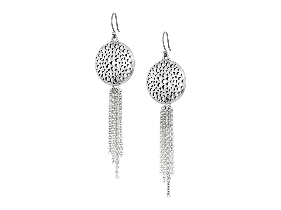 Lucky Brand - Openwork Chandelier Earrings (Silver) Earring