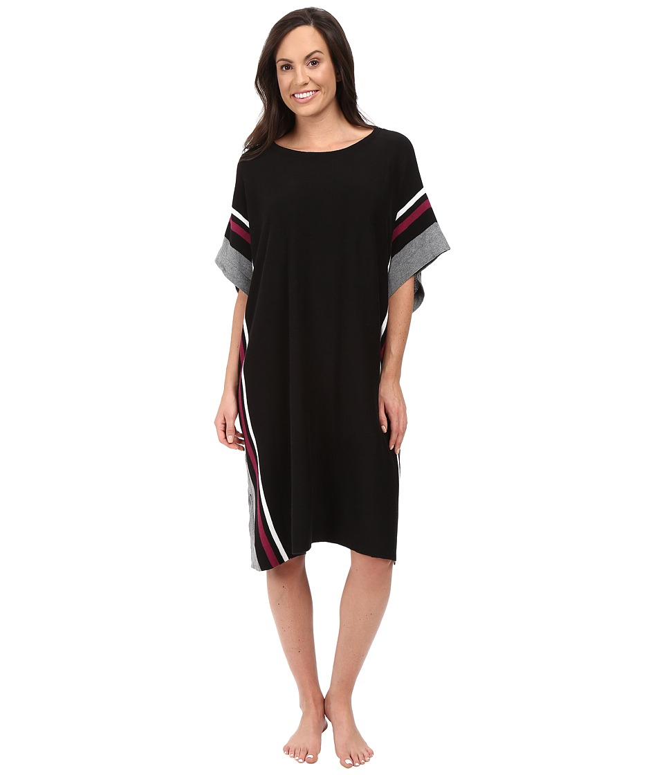DKNY - Sleep Poncho (Black) Women's Pajama