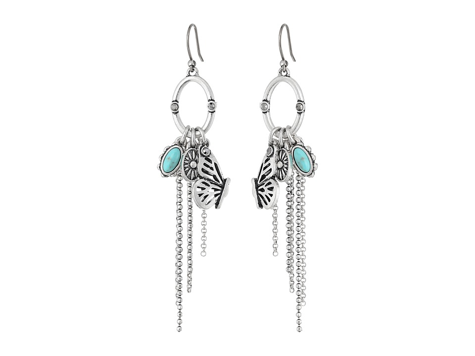 Lucky Brand - Charm Earrings (Silver) Earring