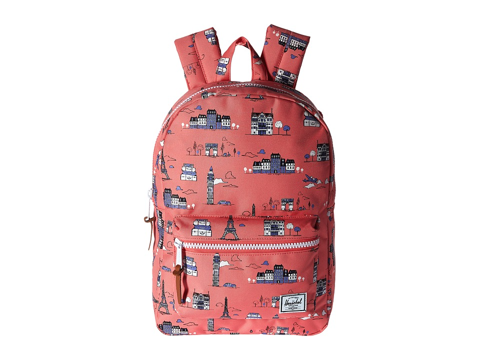 Herschel Supply Co. - Settlement Youth (Paris Pink) Backpack Bags