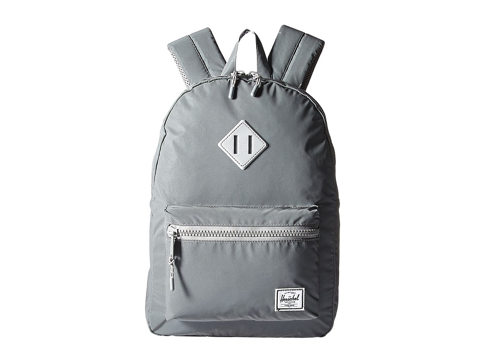 Herschel Supply Co. - Heritage Youth (Big Kids) (Silver Reflective Rubber) Backpack Bags