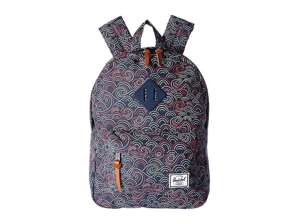 Herschel Supply Co. - Heritage Kids (Little Kids/Big Kids) (Swift/Navy Rubber) Backpack Bags