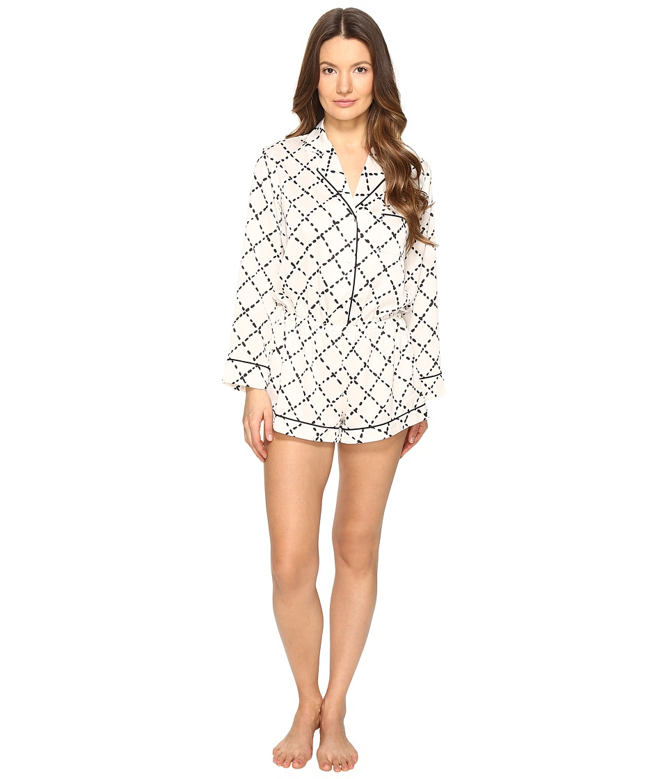 Kate Spade New York - Romper (Faux Quilt) Women's Jumpsuit & Rompers One Piece
