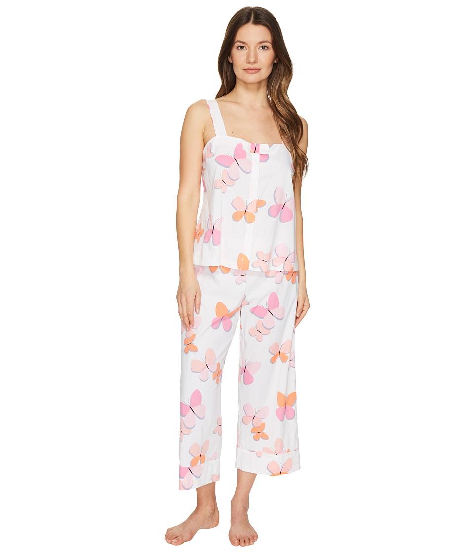 Kate Spade New York - Capris PJ Set (Butterflies) Women's Pajama Sets